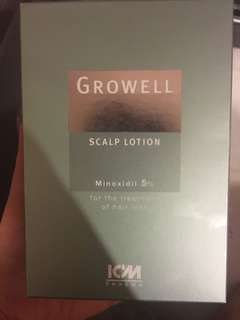 Growell hair scalp lotion 5%