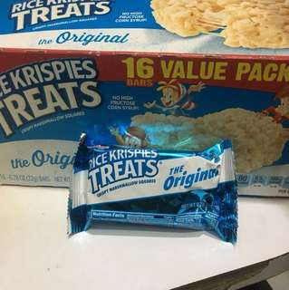 Kellogg's  Rich krispies treats the original 米通