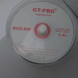 DVD-RW GT PRO TABUNG 47 keping