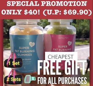 FREE GIFT! Skinnymint CHEAPEST @ $39.90