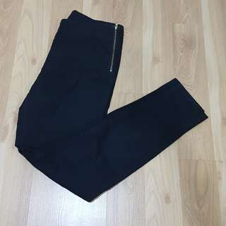 H&M black formal pants
