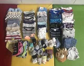 Baby boy's apparels