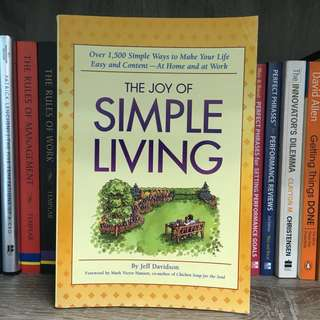 [BN] The Joy of Simple Living (Over 1500 simple ways to make your life easy & content - at home and work)
