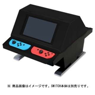 Columbus Circle CC-NSTAS-RD  Face-to-face arcade stand Black / Red For Nintendo Switch (Pre-Order)