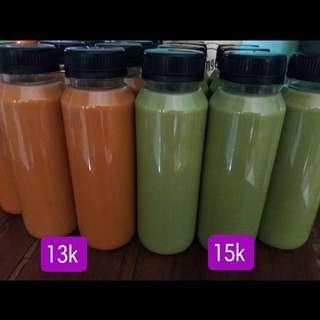 Thai tea & Green tea