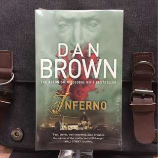 # Novel《Bran-New + International Mystery Thriller Fiction》Dan Brown - INFERNO
