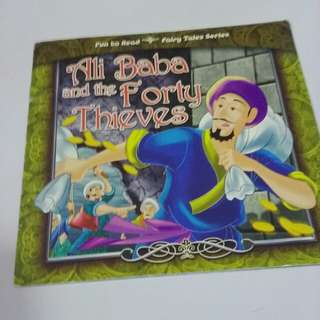 Children book_Ali Baba and the forty thieves
