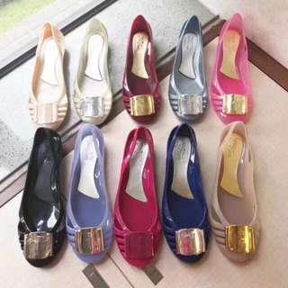 (Baru) Ferragamo jelly shoes