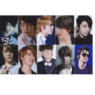 Kshop Super Junior 東海 八達通貼一套10張