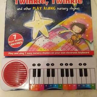 Preloved kids piano board book