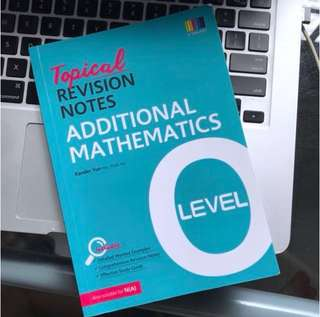 Additional Mathematics Level Topical Revision Notes
