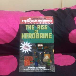 The Rise Of Herobrine (Minecraft storybook)