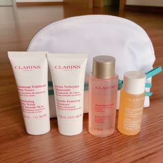 🎉SPECIAL DISCOUNT 🎊New Clarins travel set