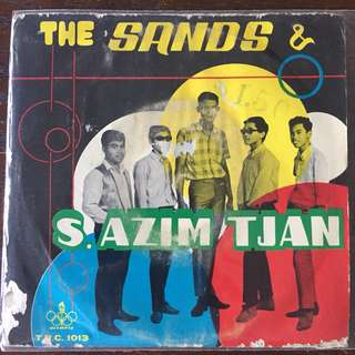 "The Sands & S. Azim Tjan 60's Singapore Malay Psych Garage Beat EP 7"" Record Vinyl"