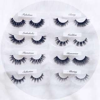 Fake Eyelashes (Mink Lashes)
