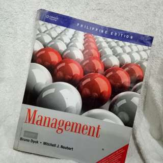 Management by Dyck and Neubert (Cengage Learning)