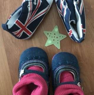 Next and primark baby shoes #Bajet20