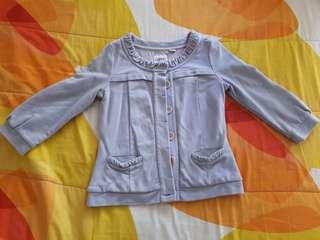 Longsleeve Cotton Jacket Top