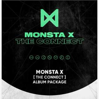 [PREORDER] Monsta X - The Connect : Dejavu (RANDOM COVER)