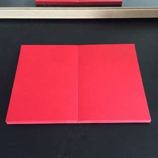 Auspicious Personalized Red Paper Premium Quality☺️