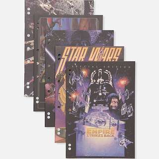 Pack of 5 star wars A4 typo work it out exercise books