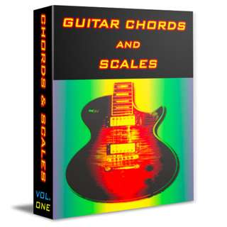 Guitar Chords and Scale eBook (51 Page Full Colored eBook)