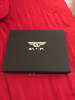 Bentley leather wallet - 100% baru + Ori