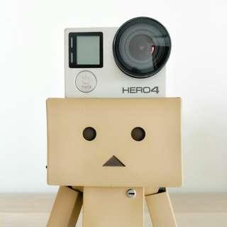 GoPro Hero 4 Silver Bundle