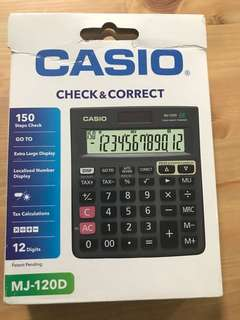 Calculator Casio MJ-120D