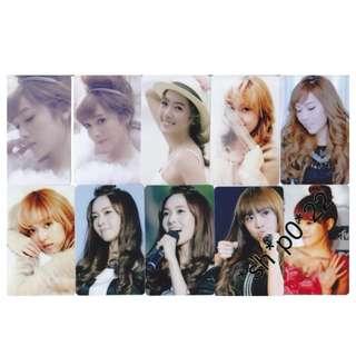 Kshop 少女時代 Girls Generation Jessica 八達通貼一套10張