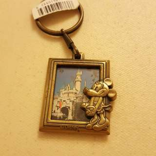 USA DISNEY Minnie  、美妮 美國銅製 相架匙扣