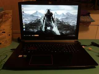 """Predator Gaming Laptop 17"""" 1060 GTX 1 Month Old"""