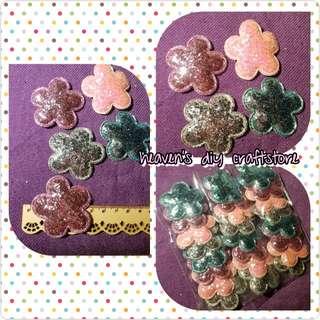 Soft Appliques/Embellishments: Glitter Petals Series (model GP02)