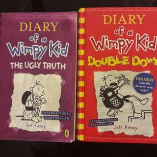 Diary Of A Wimpy Kid Jeff Kinney (Check description)
