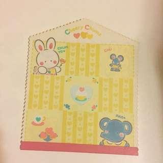 Sanrio Cheery Chums note pad 1994