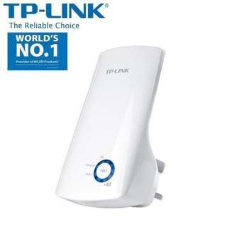 TP-LINK Wifi Range Extender Signal Booster Router+N300-300MBPS-WIRELESS REPEATER