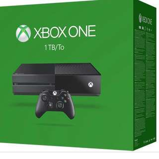 Xbox one 1TB BRAND NEW IN PACKAGE