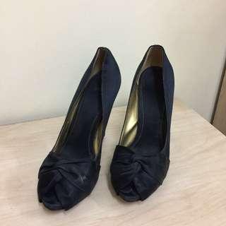 4 1/2 inch Black High Heels