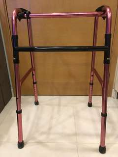Foldable Adult Walker Crutches Walk Aid