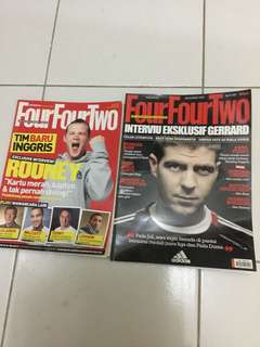 Majalah Four Four Two Edisi Nov. 2006 & Des. 2009