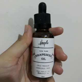 Haple Grapeseed Oil