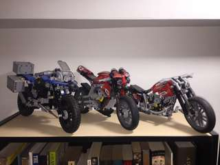 Not Lego Motorcycles