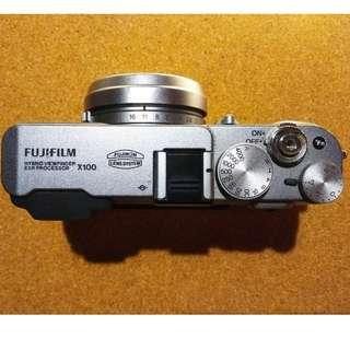 Fujifilm X100 ( Hybrid Viewfinder EXR Processor)