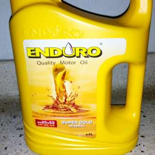 Enduro 20W-50 Engine Oil