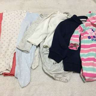 Get all! Preloved 3-6 Months for girls.