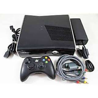 XBOX Slim 360 + Kinect + 2 Controler Lengkap