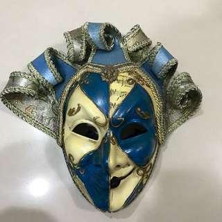 🚚 威尼斯嘉年華 面具節購回 手工製作
