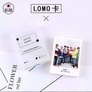 BTS LOMO CARDS 45 PCS
