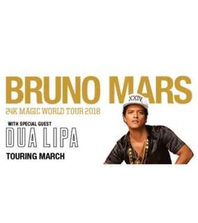 1x BRUNO MARS SYDNEY CONCERT 18th March