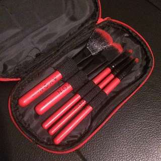 New Makeup Brush Set with Pouch